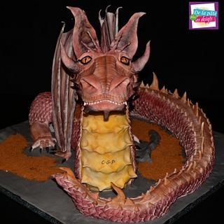 "Sculpted cake ""Dragon"""