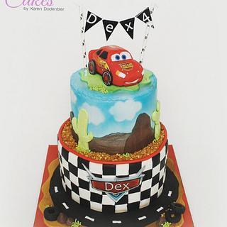 Cars - Cake by Karen Dodenbier