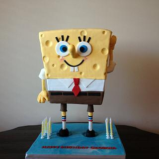 Spongebob Square pants Standing Cake