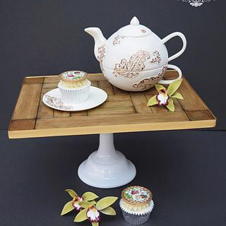 Tea for One Teapot - Cake by Deb Williams Cakes
