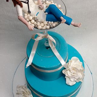 Martini Bath? - Cake by Niamh Geraghty, Perfectionist Confectionist