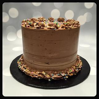 Mocha Cake  - Cake by Cakes & Crafts by Kass