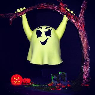 Halloween cake - Cake by SU.! CUPCAKE