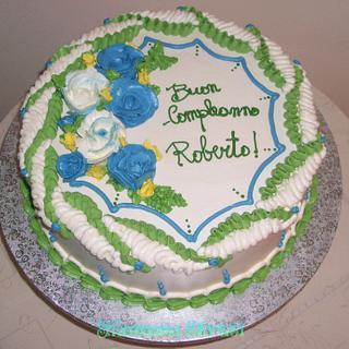 Italian Meringue Buttercream cake