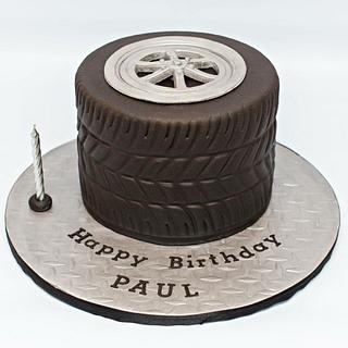 Tire Cake - Cake by The Sweetery - by Diana