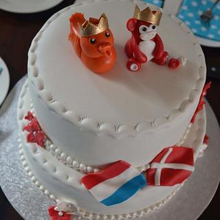 Danish-Dutch weddingcake - Cake by Birgit