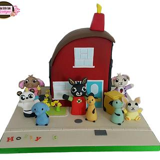 Bing's House and his friends (cbeebies)