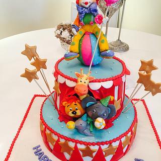 Circus  - Cake by Malika