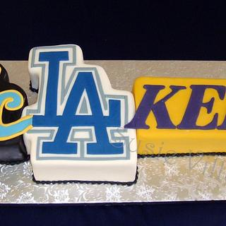 L.A. Groom's Cake - Cake by Susie Villa-Soria