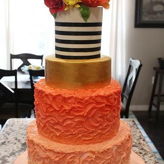 Rustic Elegance - Cake by Kendra