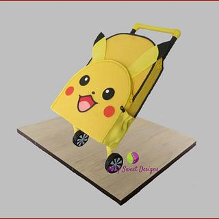 Pikachu school bag