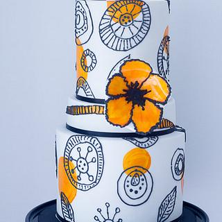 Italian Chic Riviera Cake