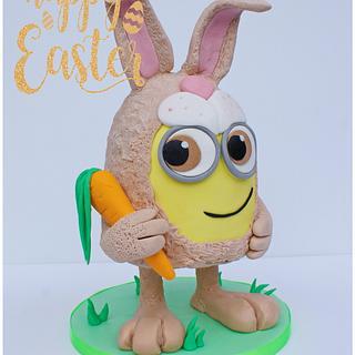 Easter Bunny Minion