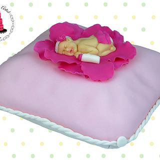 Baby Shower Princess Pillow Cake