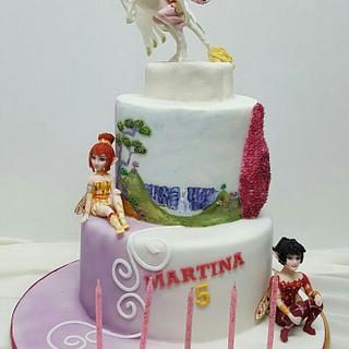 Mia and me cake
