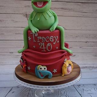 Muppet themed cake