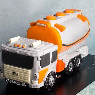 Truck cake ..  - Cake by Hima bindu
