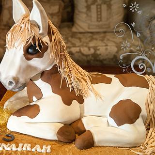 SPIRIT pony  - Cake by GoshCakes