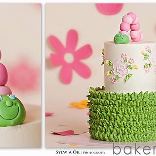 Caterpillar Cake - Cake by Bakermama