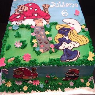 Happy SmurfDay!! - Cake by Jody Wilson