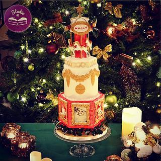 Christmas carrousel  - Cake by Studio53