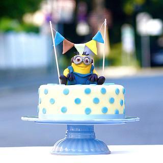 Minion Cake by Judith Walli, Judith und die Torten