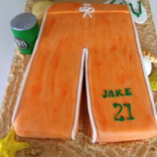 """ Jakes Beach Party Cake"""