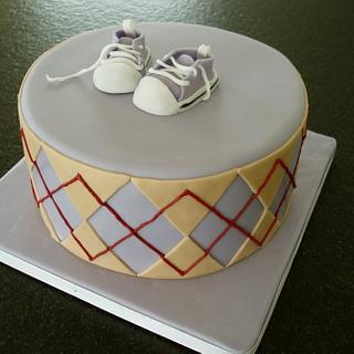 Chuck's Babyshower - Cake by Olivia's Bakery