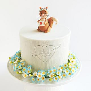 Love You Much - Cake by Tea Party Cakes