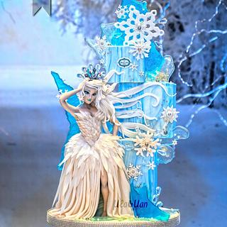 Ice queen cake