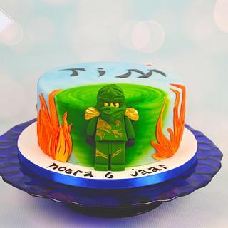 """Ninjago """"Spinjitzu"""" cake - Cake by Ingrid ~ Tårtans underbara värld"""