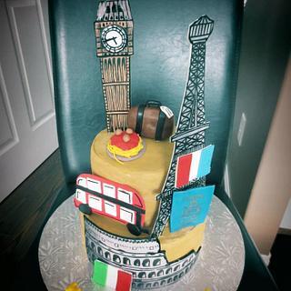 Europe Cake