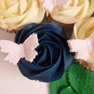 Mothers Day Cupcake Bouquet Boards