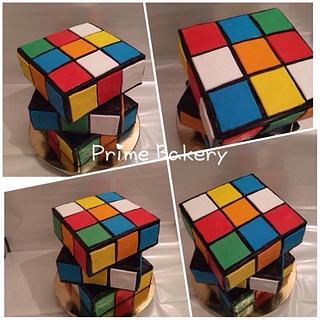 Rubic's Cub cake