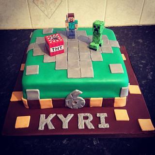 Minecraft cake - Cake by Big Cake Adventure