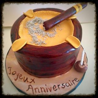 Ashtray Cake - Cake by Dimitra Mylona - Sweet Zoe Cakes