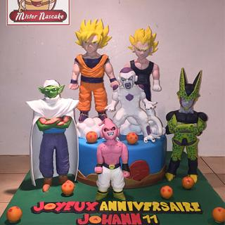 DBZ cakes