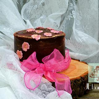 Little chocolate cake for charity