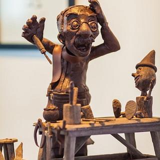 Pinocchio chocolate - Cake by stefan krueger