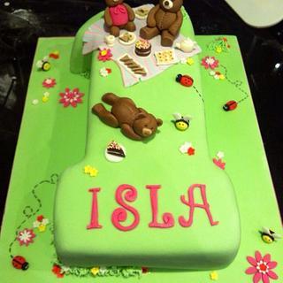 Teddy bears picnic - Cake by Hayleycakes1