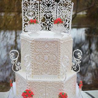 Royal Icing Cake  - Cake by Divya iyer