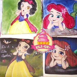princesas - Cake by GenesisTiburcio