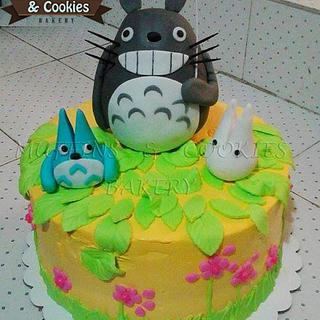 Totoro Cake - Cake by Muffins & Cookies Bakery
