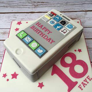 iPhone cake  - Cake by The Cake Bank