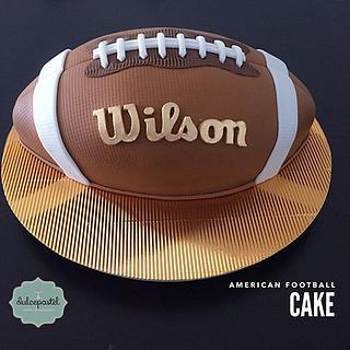 Torta Balón Fútbol Americano