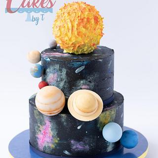 Galaxy - Cake by Teresa Davidson