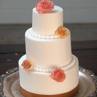 Buttercream Anniversary Cake - Cake by Yvonne Janowski