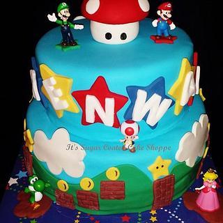 Mario and Luigi World - Cake by Jaimie Pereira