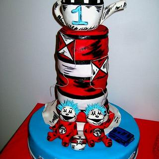 Cat in the hat - Cake by Random Acts of Sweetness