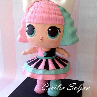 Torta muñeca LOL
